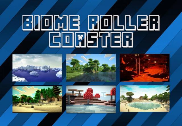 Biome Toller Coaster Mapa Minecraft PE