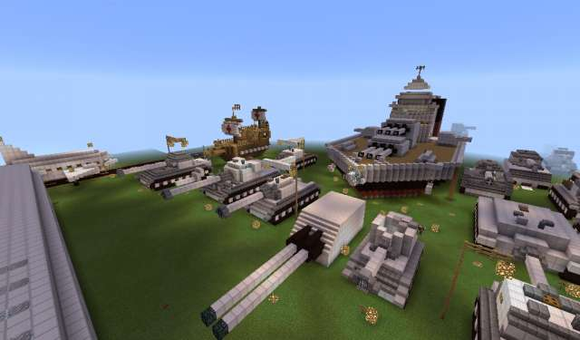 Museo Guerra Minecraft Mapa 2