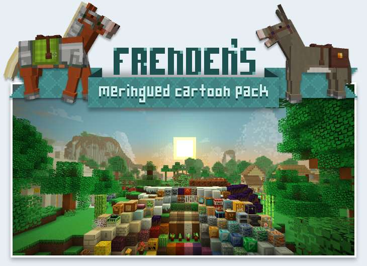 Frenden's Meringued Cartoon Texture Pack