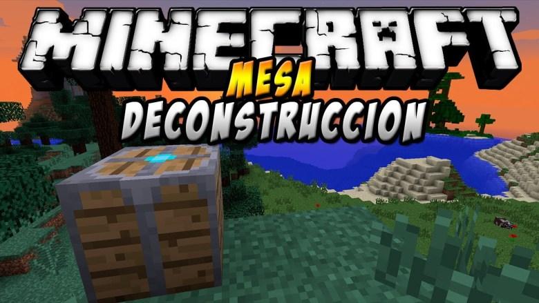Deconstruction Table Mod Minecraft