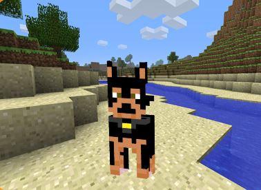 Skin Rottweiler para Minecraft
