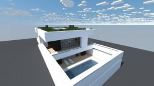 Casa Moderna Japonesa Minecraft