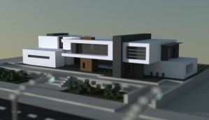 Mansion Moderna Triton para Minecraft