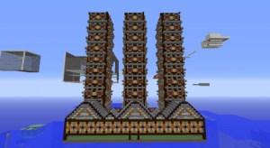 Mapa parkour 3 niveles para Minecraft