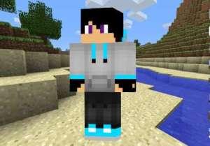 Skin Chico con sudadera para Minecraft