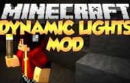 Dynamic Lights Mod Minecraft 1.8 / 1.7.10 / 1.7.2
