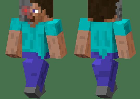 Minecraft Terminator Piel MCPE