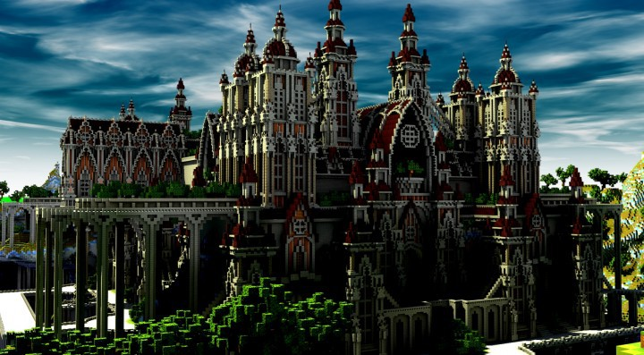 Descargar Mega Castillo Minecraft