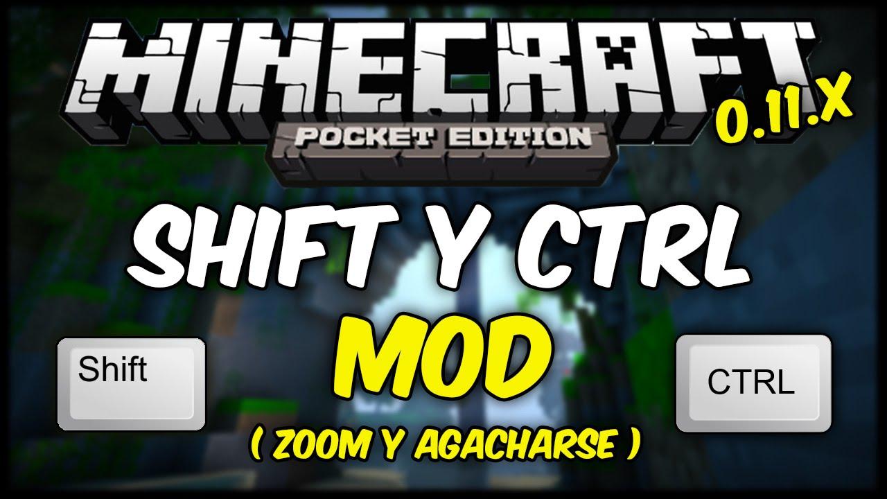 [MCPE] Shift Y Ctrl Mod 0.11.1 / 0.11.0