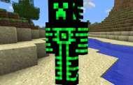 Skin Robot Creeper para Minecraft