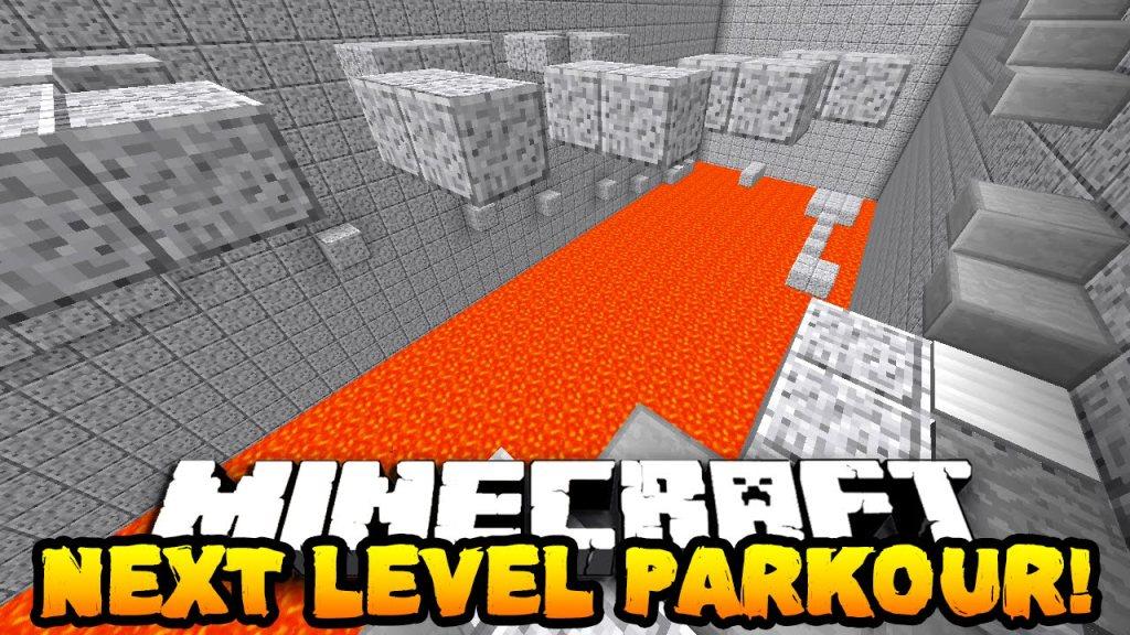 Next level parkour map Minecraft