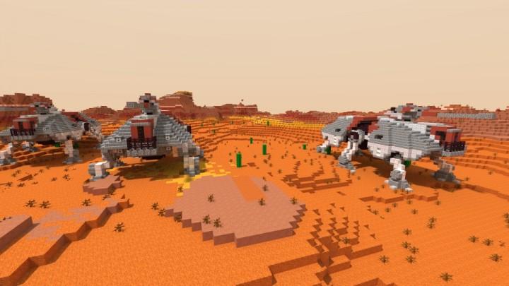 Mapa Vehiculos Star Wars Minecraft 1 8 8 1 8 Minecraft Descargas