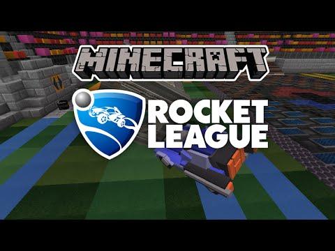 Mapa Rocket League Minecraft