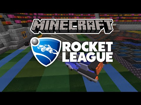 Mapa Rocket League Minecraft