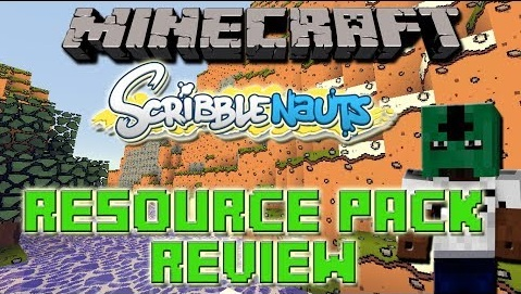 The Scribblenauts Resource Pack Minecraft 1.8.8/1.8/1.7.10
