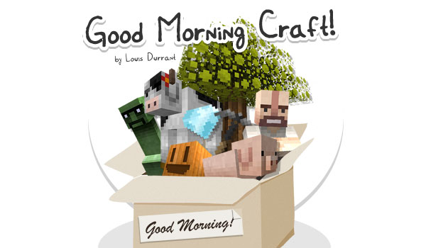 Good Morning Craft Texture Pack para Minecraft 1.9