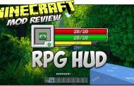 RPG-Hud Mod para Minecraft 1.11 y 1.11.2