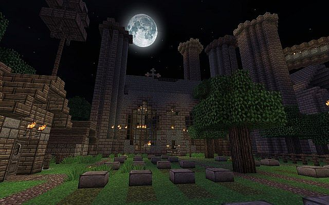 Mega Castillo Paradise Minecraft