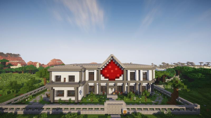 Redstone Smart Casa Minecraft