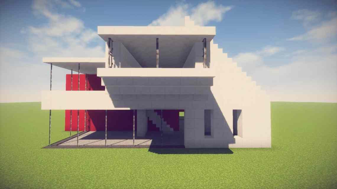 Minecraft: Simple/Easy Modern House - Easy Minecraft House ...