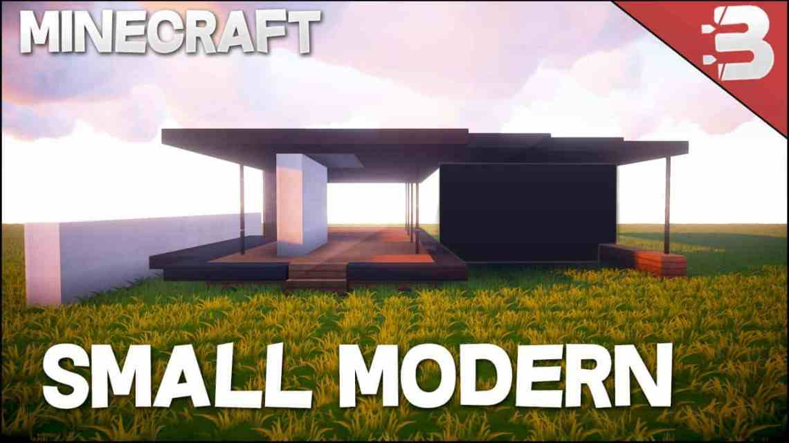 Minecraft: How To Build A Small Modern House Tutorial ...