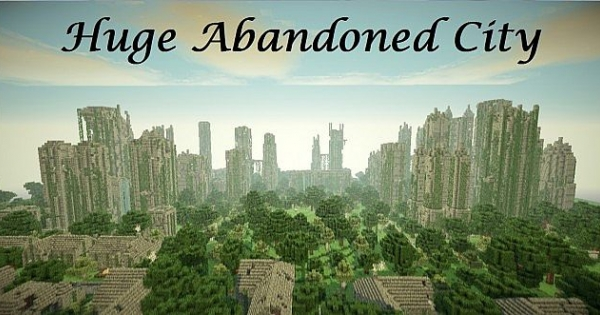 Epic Ruined City Port Minecraft PE Map Minecraft Hub