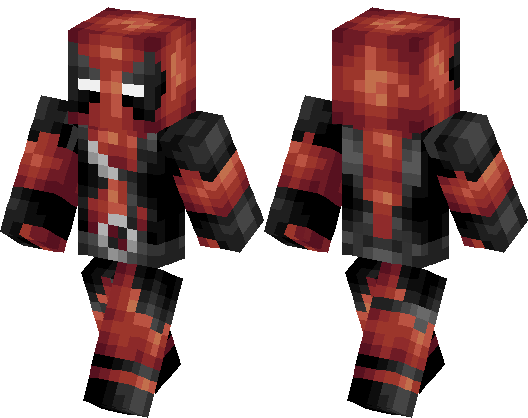 DEADPOOL The Amazeing Super Hero Invincible Minecraft Skin Minecraft Hub