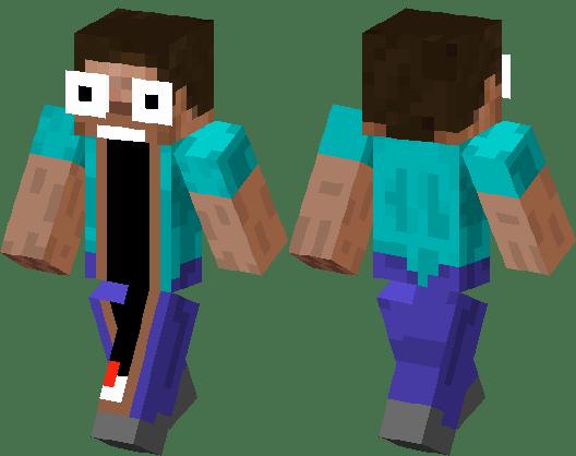 Jaw Drop Noob Minecraft Skin Minecraft Hub