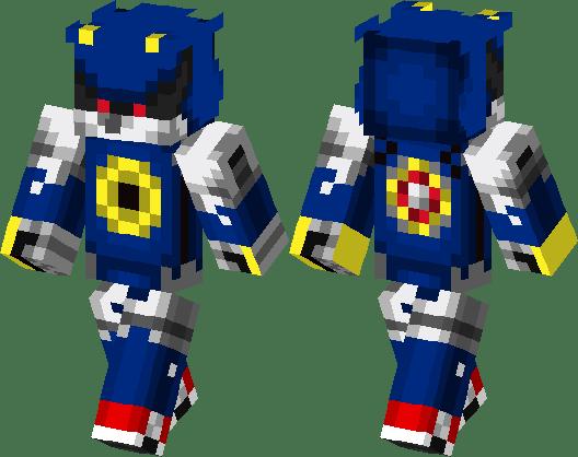Metal Sonic Minecraft Skin Minecraft Hub