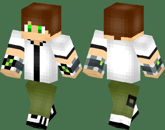 Horror Minecraft Skin Boy