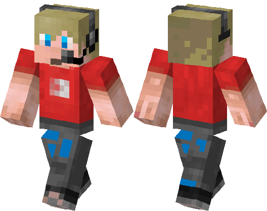 Ethan Gamer Minecraft Skin Minecraft Hub