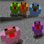 Dyeable Chickens Mod