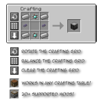 Crafting Tweaks Mod
