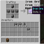 Iron Ore from Gravel Mod