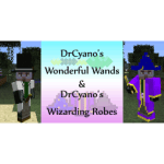 DrCyano's Wonderful Wands & Wizarding Robes Mod