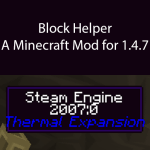 Block Helper Mod