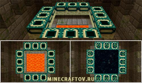 Portalul Ender în Minecraft