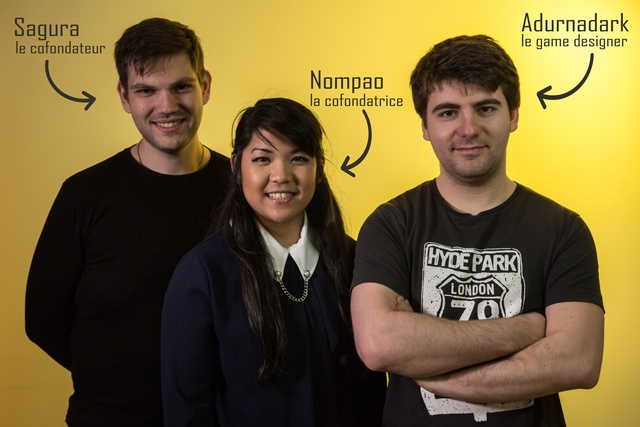 les créateurs du projet e-sport