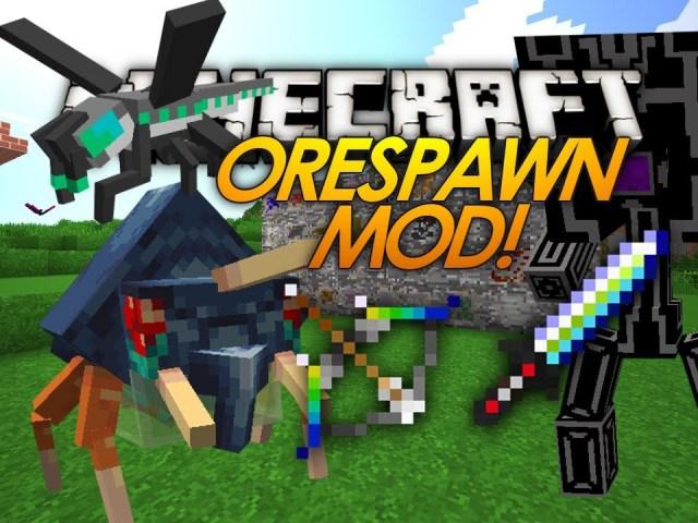 orespawn-mod-minecraft-1