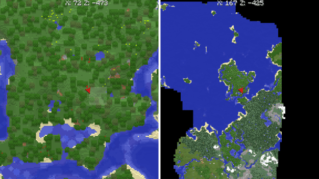 Xaeros world map mod for minecraft 11221112 minecraftred xaeros world map mod features gumiabroncs Image collections