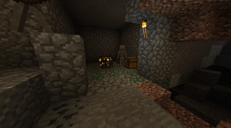 [PC 1.12] Hidden Skeleton Hideout, Amazing Biome