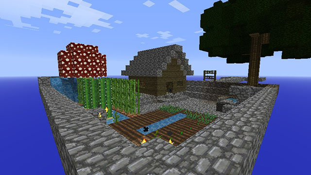 Skyblock Map for Minecraft 1.8.4