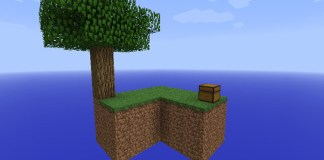 Skyblock Map for Minecraftt