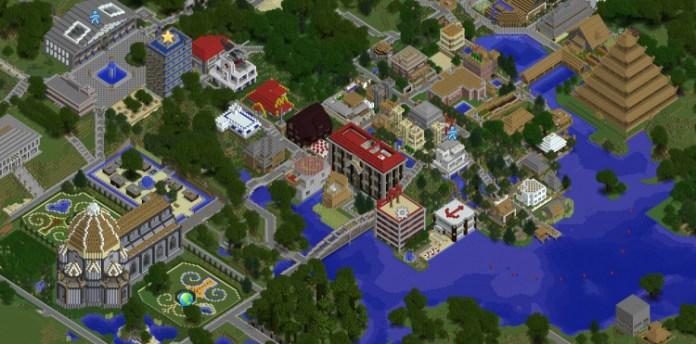 Dynmap Mod for Minecraft 1 9 4/1 8/1 7 10 | MinecraftSide