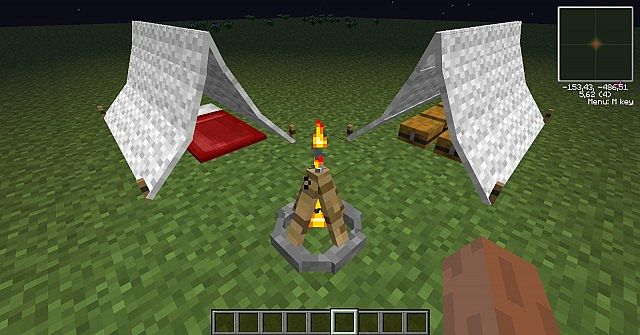 minecraft camping mode