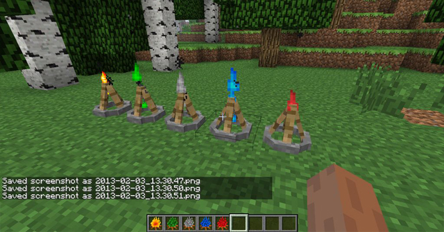 minecraft camping mode 1.7.10 1,8