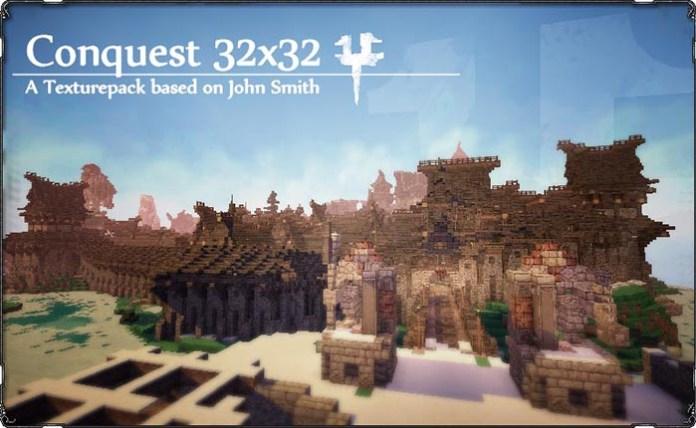 Conquest Resourec Pack for Minecraft
