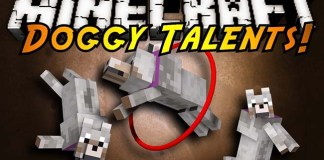 Doggy Talents Mod Mod for Minecraft