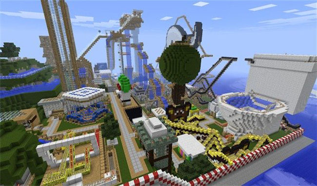 Funland Map Minecraft