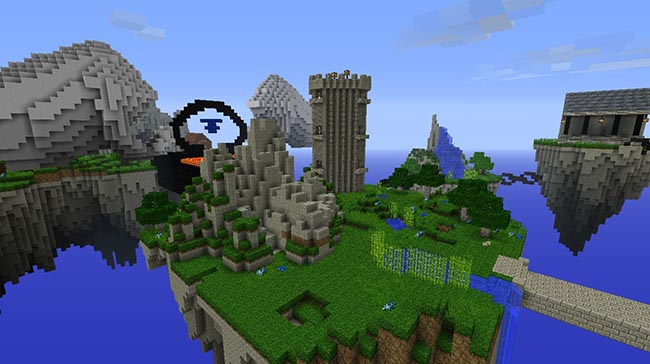 Kingdom Of The Sky Map For Minecraft MinecraftSide - Maps fur minecraft 1 8 9